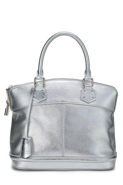 Silver Suhali Leather Lockit PM