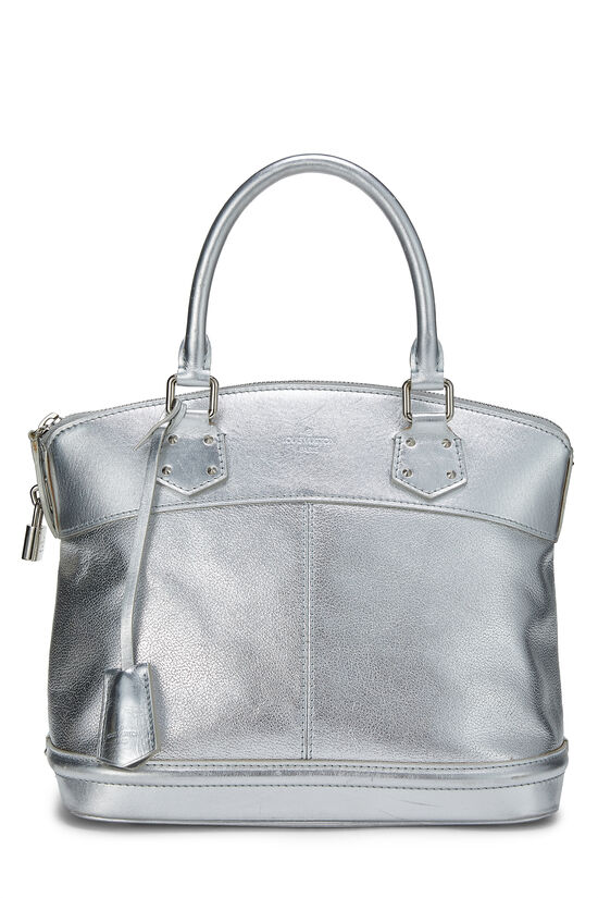 Silver Suhali Leather Lockit PM, , large image number 0