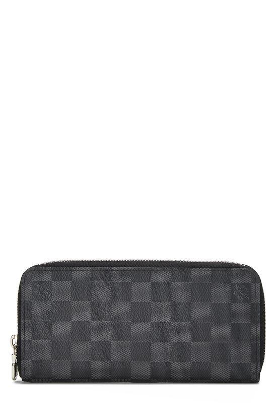 Damier Graphite Zippy Vertical Wallet , , large image number 2