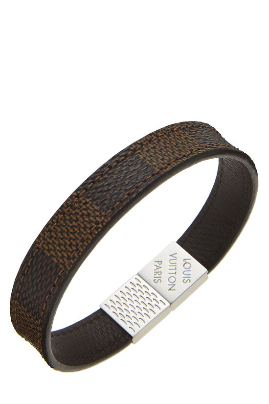 Damier Ebene Pull It Bracelet, , large image number 1