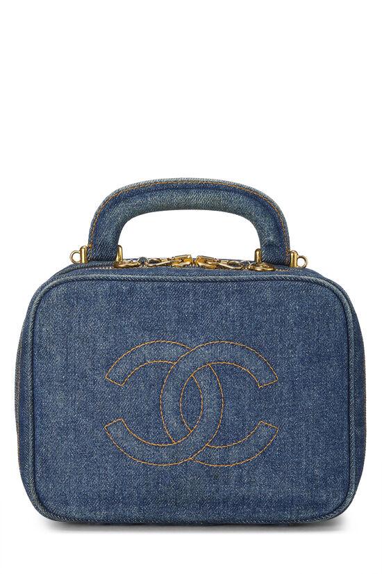 Blue Denim Lunch Box Vanity, , large image number 0