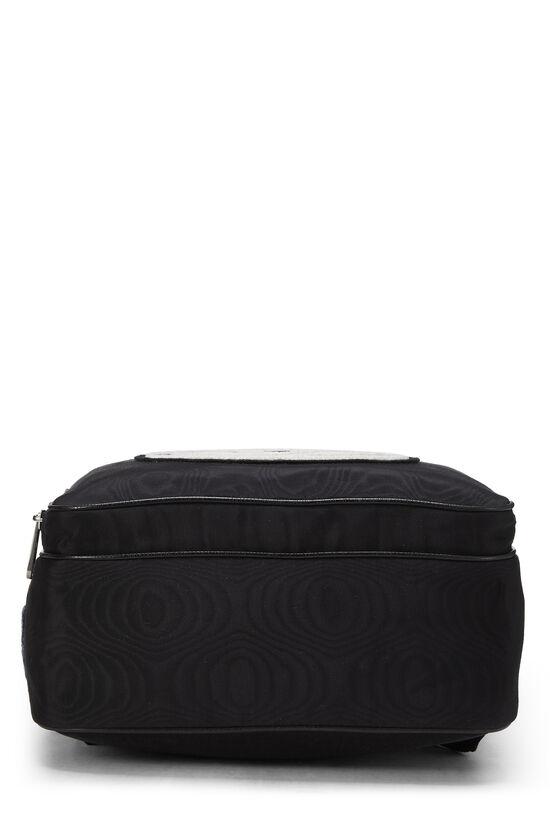 Black Nylon Tenebre Backpack, , large image number 4