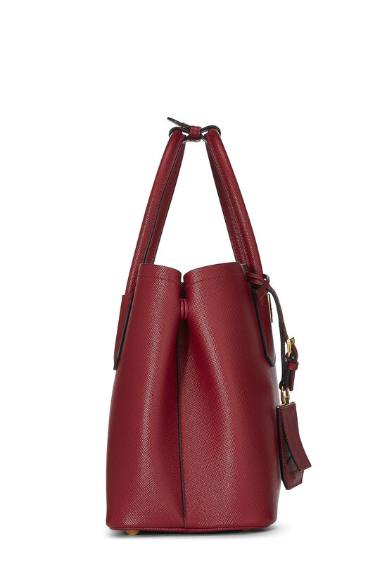 Red Saffiano Double Bag Small, , large image number 2