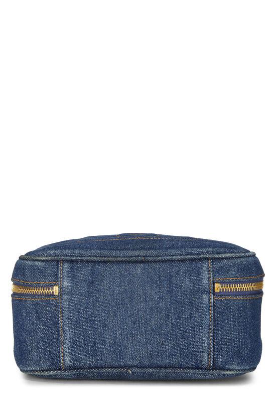 Blue Denim Lunch Box Vanity, , large image number 4