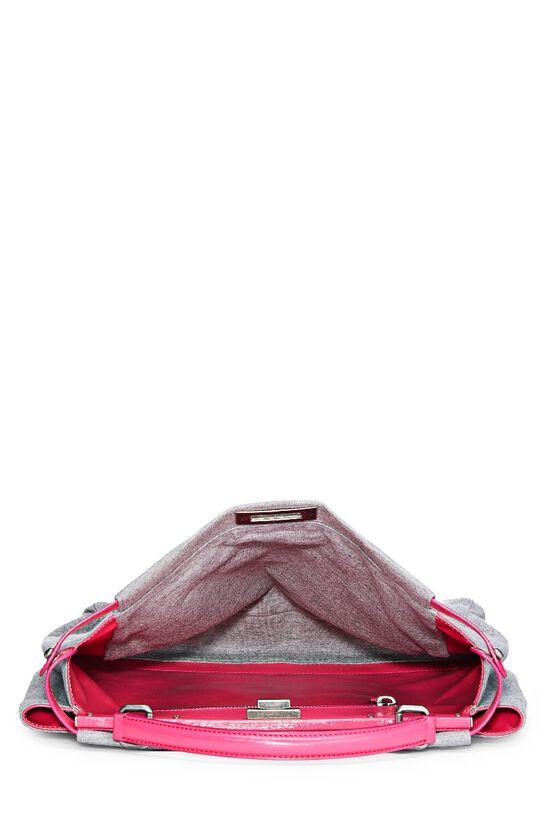 Pink & Grey Jersey Peekaboo, , large image number 5