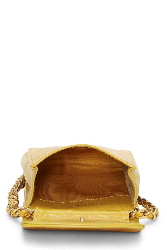 Yellow Caviar Timeless 'CC' Crossbody Pouch, , large image number 5
