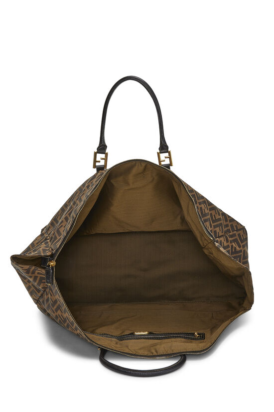 Brown Zucca Canvas Duffle XL, , large image number 5