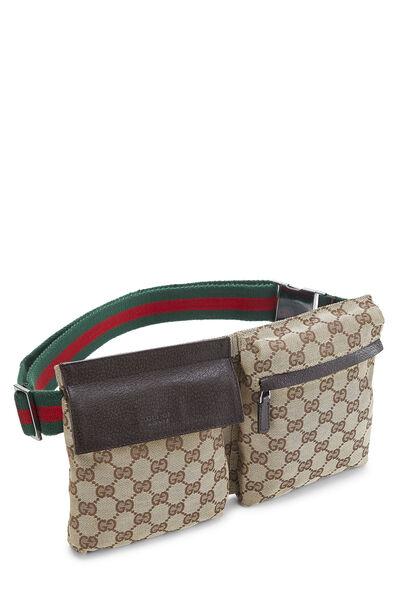 Original GG Canvas Web Belt Bag, , large