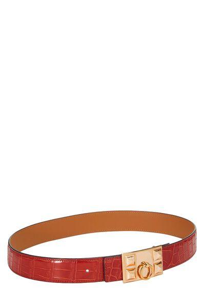 Rouge Crocodile Collier de Chien Belt 75, , large