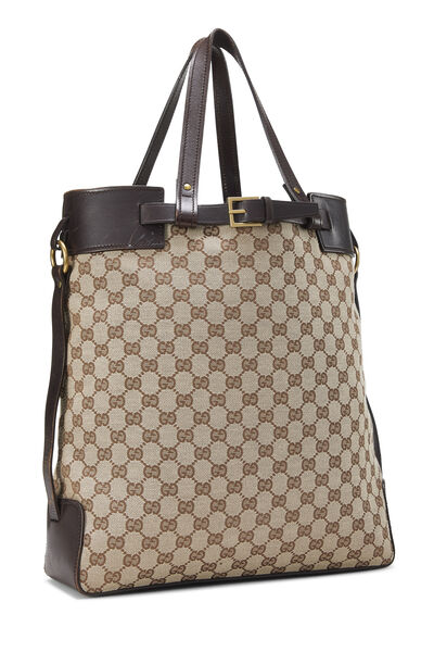 Original GG Canvas Buckle Tote Small, , large