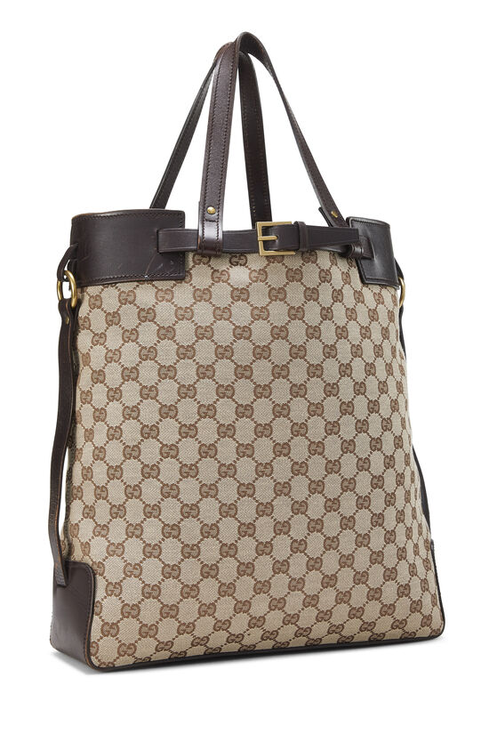 Original GG Canvas Buckle Tote Small, , large image number 1