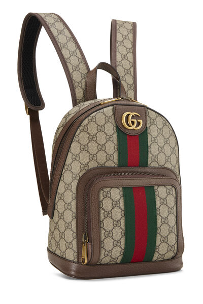 Original GG Supreme Canvas Ophidia Backpack Small, , large