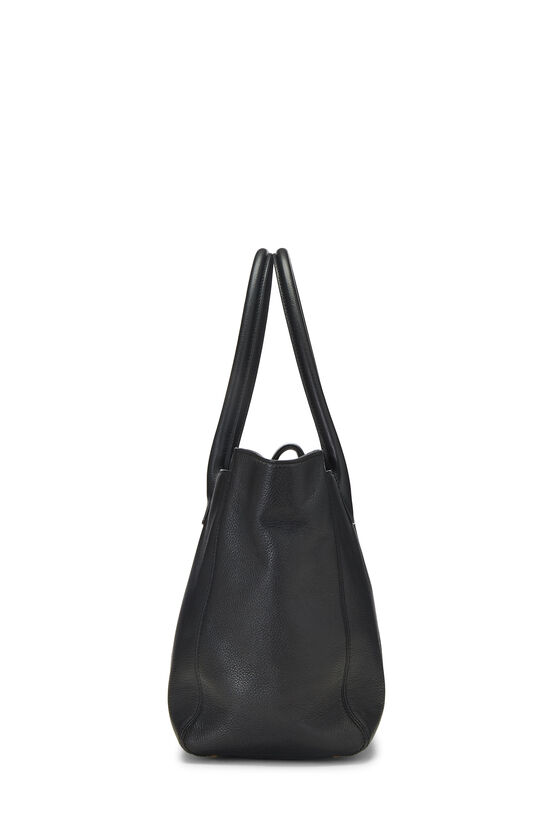 Black Calfskin Cerf Tote Medium, , large image number 2