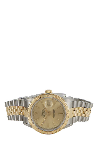 Stainless Steel &18K Yellow Gold Datejust Turn-O-Graph 16263 36mm, , large