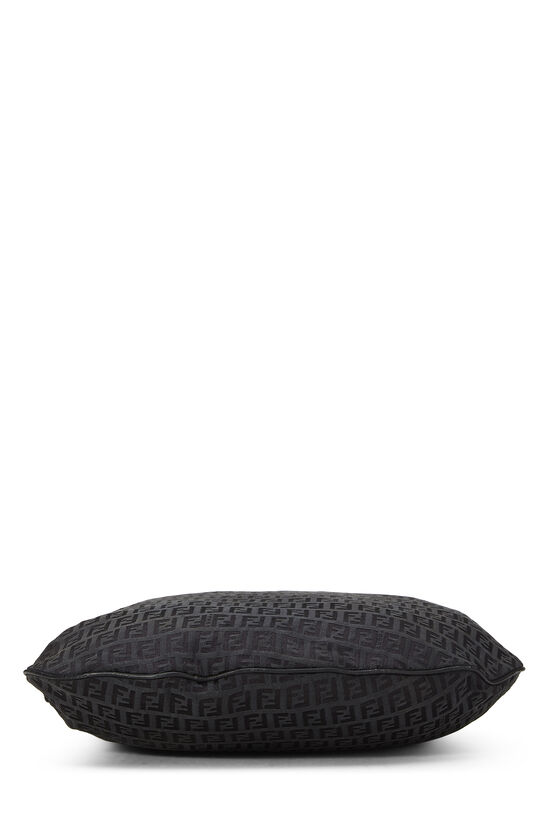 Black Zucchino Canvas Oyster Bag, , large image number 4