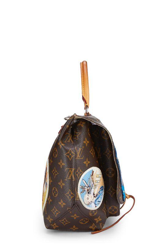 Cindy Sherman x Louis Vuitton Iconoclasts Collection Monogram Canvas Messenger, , large image number 2