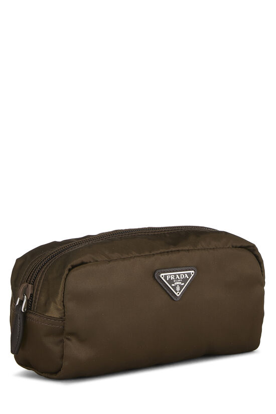 Brown Nylon Pouch, , large image number 1