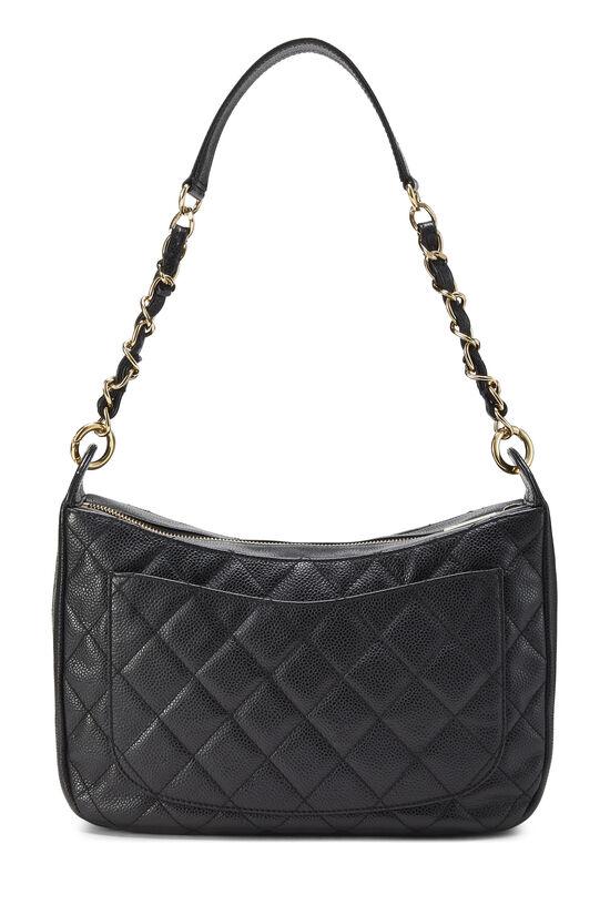 Black Caviar Timeless 'CC' Shoulder Bag, , large image number 3