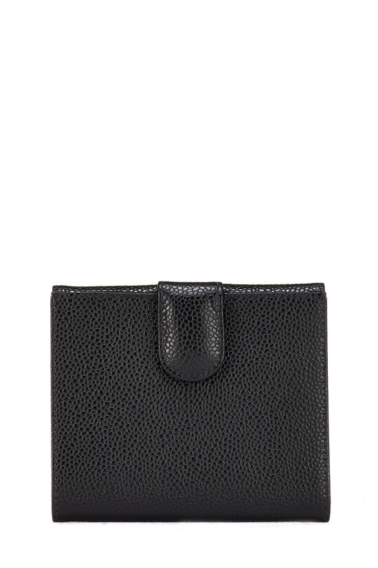 Black Caviar 'CC' Compact Wallet, , large image number 2