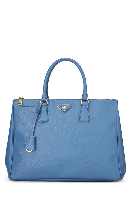 Blue Saffiano Executive Tote Large, , large image number 0