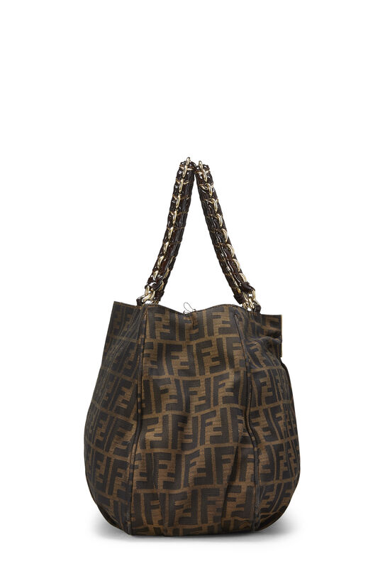 Brown Zucca Canvas Mia Hobo Large, , large image number 2