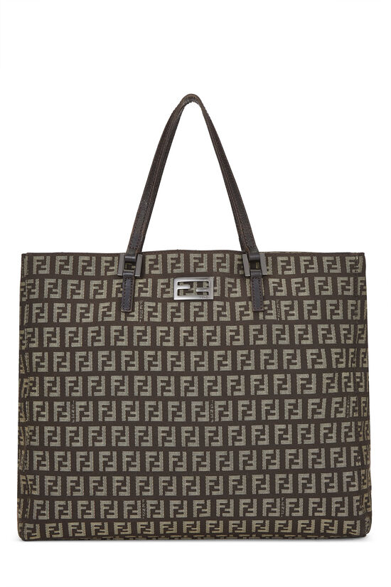 Brown Zucchino Tote Small, , large image number 0
