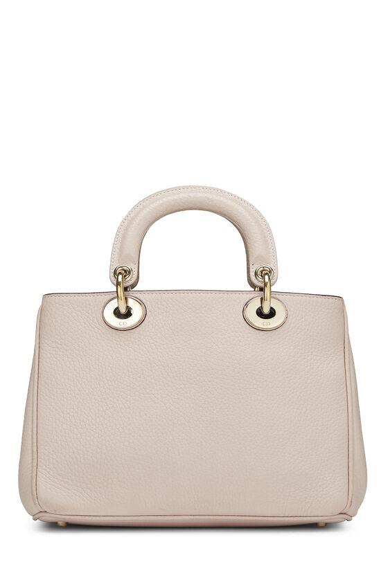 Pink Calfskin Diorissimo Handbag Mini, , large image number 3