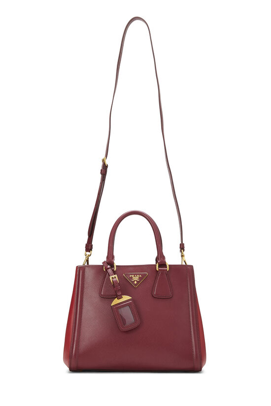 Red Saffiano East West Tote Small, , large image number 6
