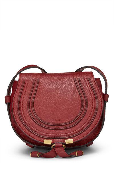 Red Leather Marcie Crossbody Mini