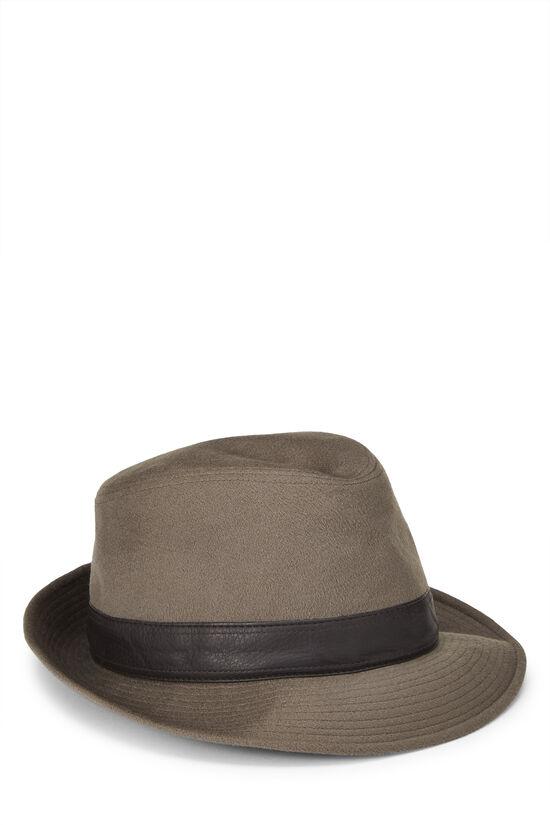 Grey Cashmere Fedora, , large image number 0