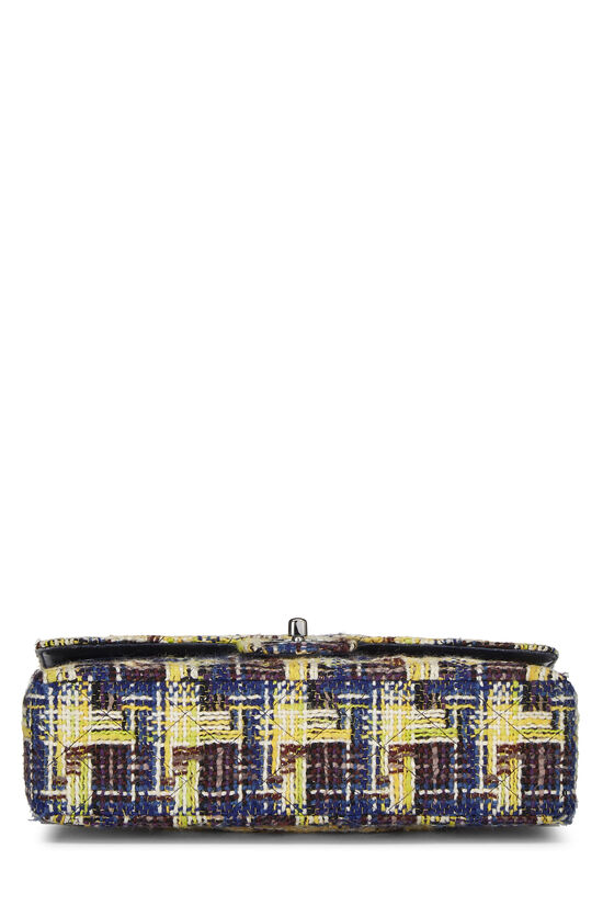 Multicolor Tweed Classic Double Flap Medium, , large image number 4