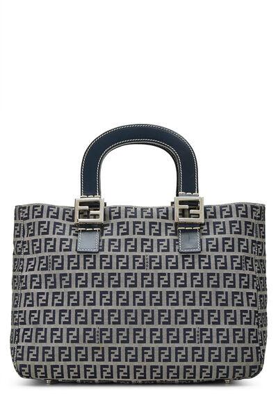 Navy Zucchino Canvas Handbag