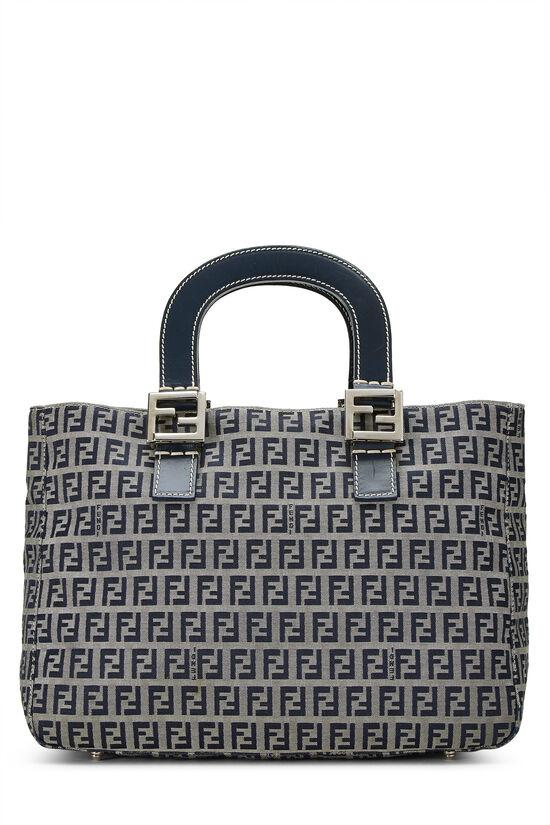 Navy Zucchino Canvas Handbag, , large image number 0