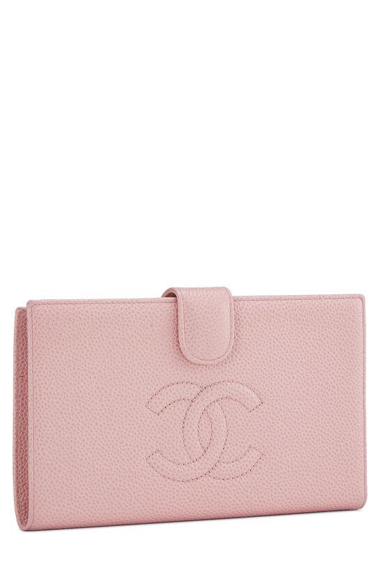 Pink Caviar Timeless 'CC' Wallet, , large image number 1