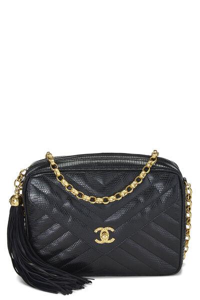 Black Lizard Envelope Camera Bag Medium