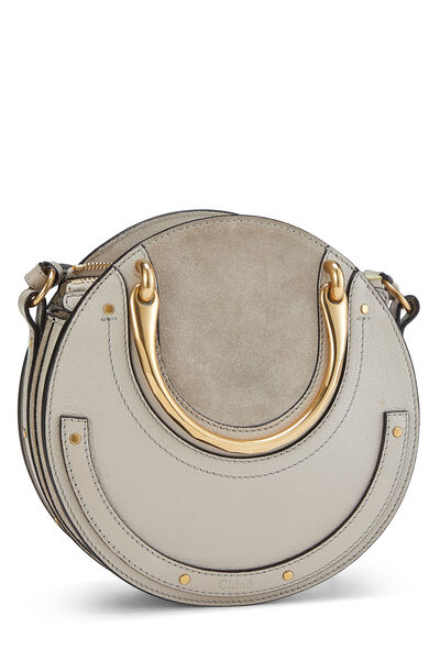 Motty Grey Suede & Leather Pixie Small, , large