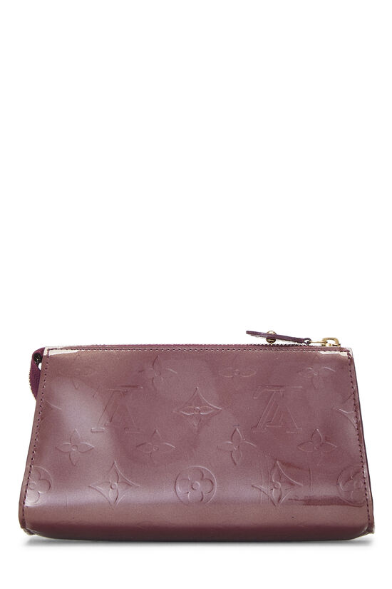 Purple Monogram Vernis Trousse Cosmetic Pouch, , large image number 2
