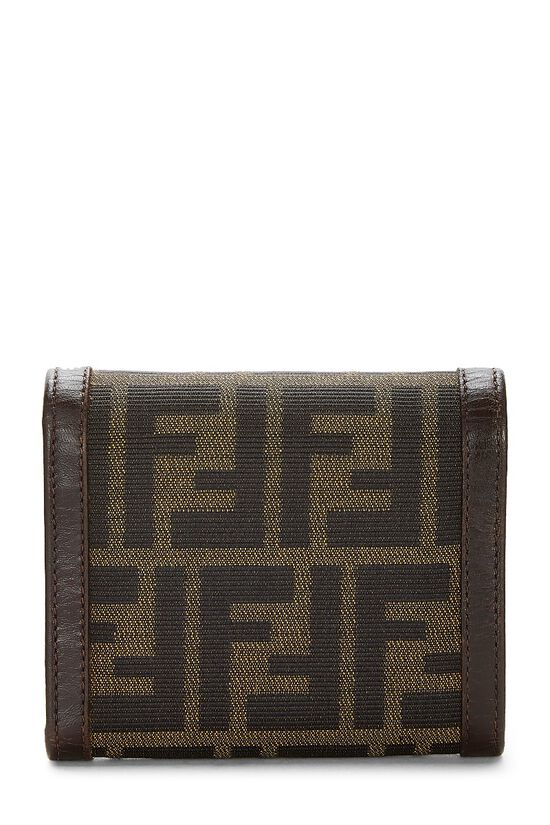 Brown Zucca Canvas Wallet, , large image number 2