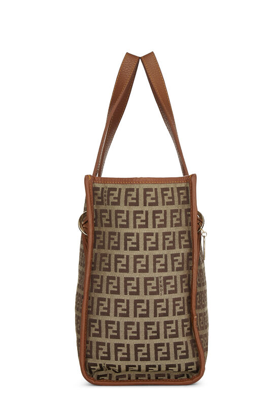 Brown Zucchino Canvas Handbag Small, , large image number 2