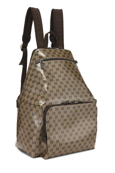 Original GG Crystal Canvas Travel Backpack XL, , large