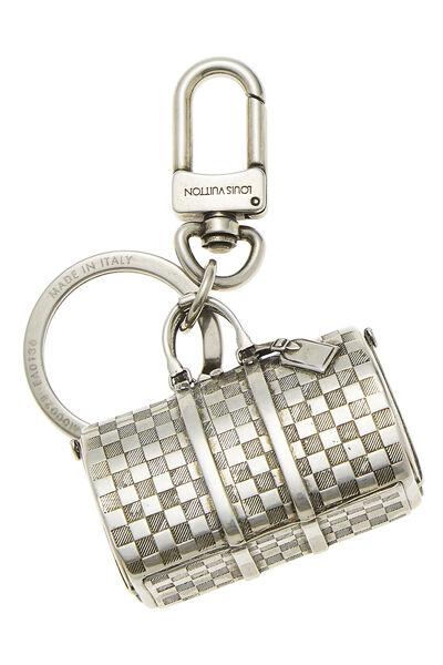 Silver Keepall Key Holder, , large