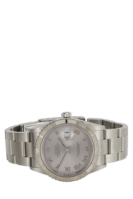 Stainless Steel Datejust Turn-O-Graph 16264 36mm, , large image number 1