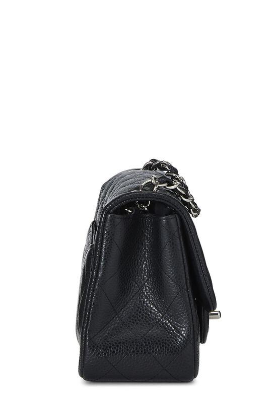Black Quilted Lambskin Classic Square Flap Mini, , large image number 2