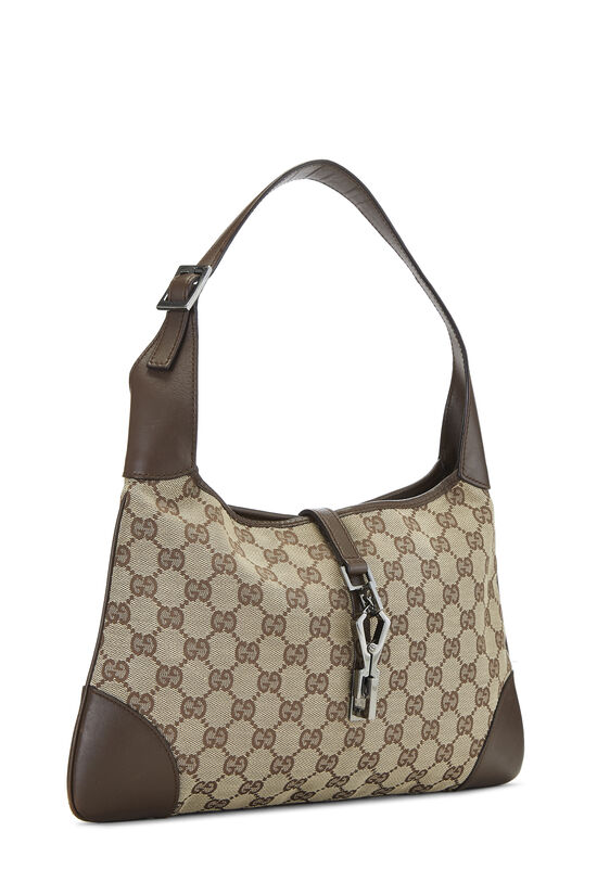 Original GG Canvas Jackie Hobo Small, , large image number 1