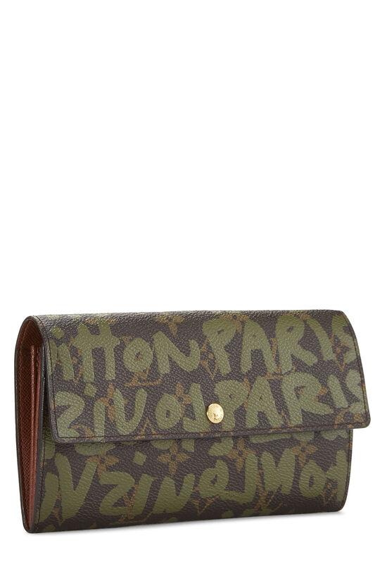 Stephen Sprouse x Louis Vuitton Green Monogram Graffiti Sarah, , large image number 1