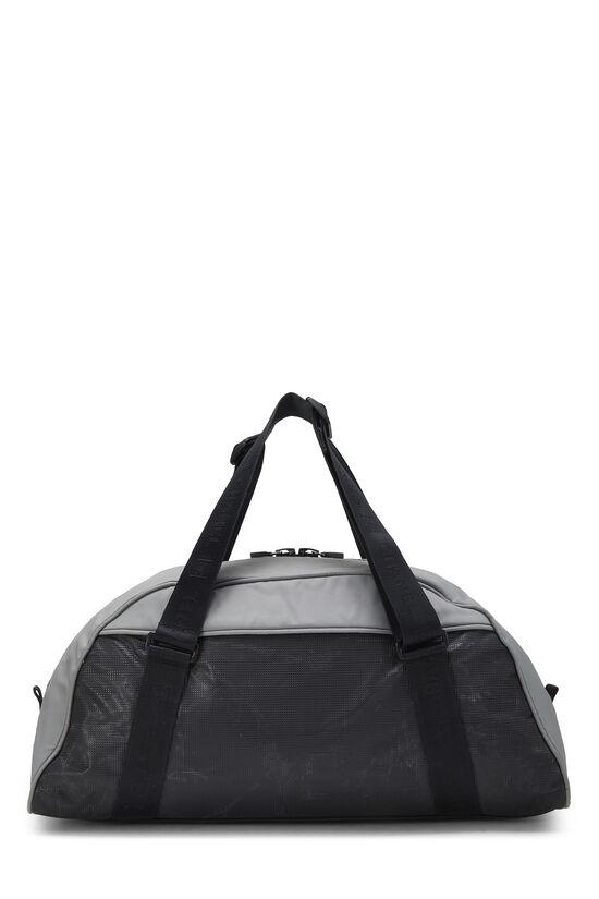 Black & Grey Nylon Sportline Duffle, , large image number 3