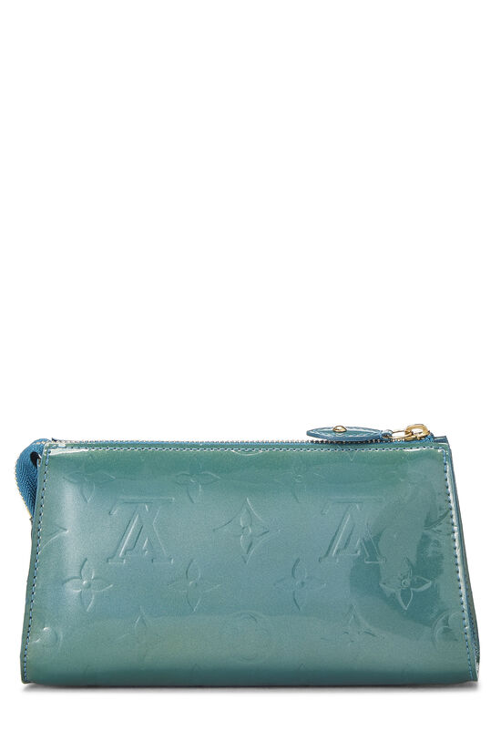 Green Monogram Vernis Trousse Cosmetic Pouch, , large image number 2