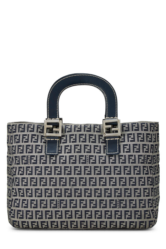 Navy Zucchino Canvas Handbag, , large image number 3