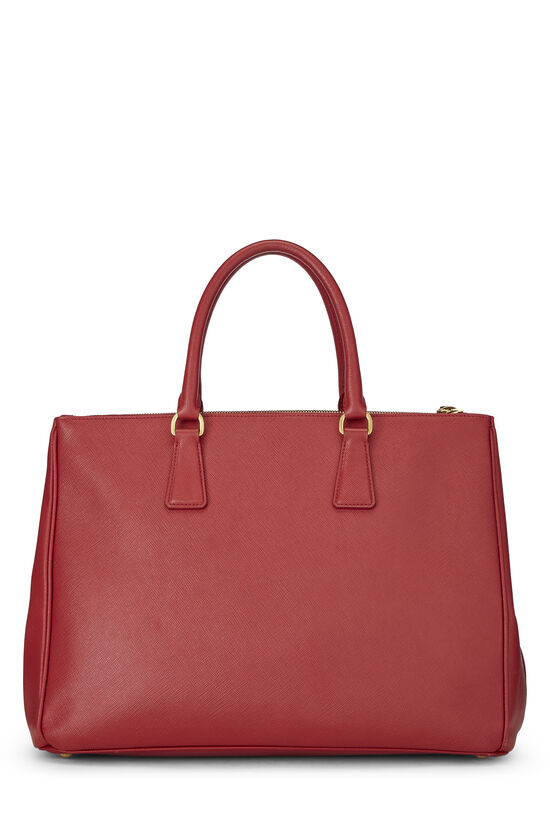 Red Saffiano Executive Tote Large, , large image number 3
