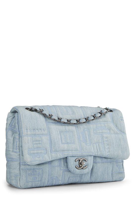 Blue Denim Perfume Classic Flap Jumbo, , large image number 1